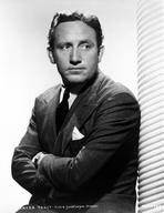 Spencer Tracy - Spencer Tracy posed in Suit in Classic Portrait