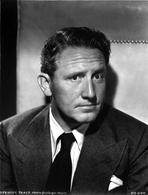 Spencer Tracy - Spencer Tracy Cast Member Posed in Black and White Portrait wearing Tuxedo