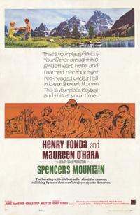Spencer's Mountain - 11 x 17 Movie Poster - Style A