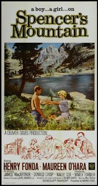 Spencer's Mountain - 20 x 40 Movie Poster - Style A
