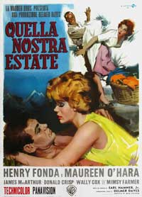 Spencer's Mountain - 27 x 40 Movie Poster - Italian Style A