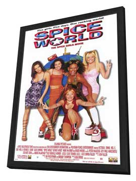 Spice World: The Movie - 11 x 17 Movie Poster - Style A - in Deluxe Wood Frame