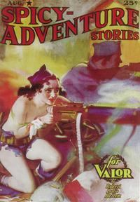 Spicy Adventure Stories (Pulp) - 11 x 17 Pulp Poster - Style A