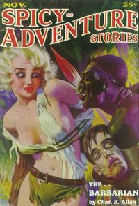 Spicy Adventure Stories (Pulp) - 11 x 17 Pulp Poster - Style B