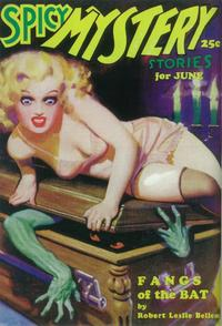 Spicy Mystery Stories (Pulp) - 11 x 17 Pulp Poster - Style B