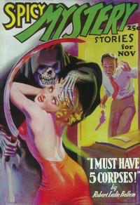 Spicy Mystery Stories (Pulp) - 11 x 17 Pulp Poster - Style C