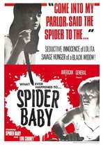 Spider Baby or, The Maddest Story Ever Told - 11 x 17 Movie Poster - Style A