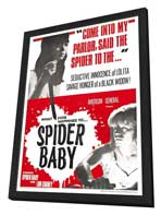 Spider Baby or, The Maddest Story Ever Told - 11 x 17 Movie Poster - Style A - in Deluxe Wood Frame