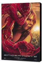 Spider-Man 2 - 11 x 17 Movie Poster - Style D - Museum Wrapped Canvas
