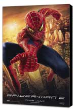 Spider-Man 2 - 27 x 40 Movie Poster - Style E - Museum Wrapped Canvas