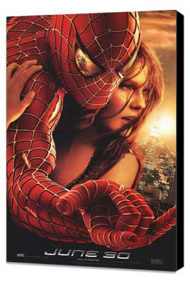 Spider-Man 2 - 27 x 40 Movie Poster - Style H - Museum Wrapped Canvas