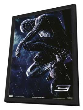 Spider-Man 3 - 11 x 17 Movie Poster - Style A - in Deluxe Wood Frame