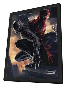 Spider-Man 3 - 11 x 17 Movie Poster - Style J - in Deluxe Wood Frame