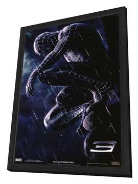 Spider-Man 3 - 27 x 40 Movie Poster - Style A - in Deluxe Wood Frame