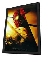 Spider-Man - 27 x 40 Movie Poster - Style F - in Deluxe Wood Frame