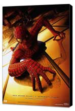 Spider-Man - 27 x 40 Movie Poster - Style B - Museum Wrapped Canvas