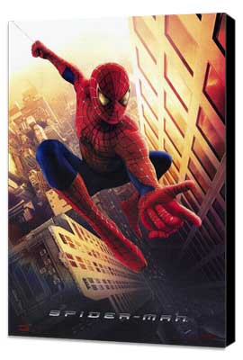 Spider-Man - 11 x 17 Movie Poster - Style A - Museum Wrapped Canvas