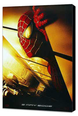Spider-Man - 27 x 40 Movie Poster - Style F - Museum Wrapped Canvas
