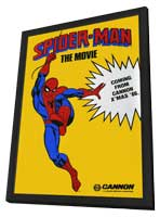 Spider-man The Movie - 11 x 17 Movie Poster - Style A - in Deluxe Wood Frame