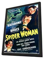 Spider Woman - 11 x 17 Movie Poster - Style A - in Deluxe Wood Frame