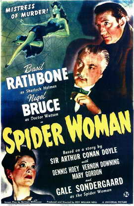 Spider Woman - 11 x 17 Movie Poster - Style A