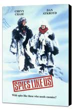 Spies Like Us - 11 x 17 Movie Poster - Style C - Museum Wrapped Canvas