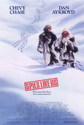 Spies Like Us - 11 x 17 Movie Poster - Style B