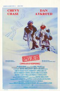 Spies Like Us - 11 x 17 Movie Poster - Belgian Style A