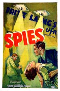 Spies - 11 x 17 Movie Poster - Style A