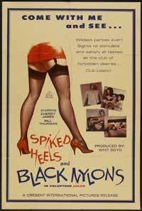 Spiked Heels and Black Nylons - 11 x 17 Movie Poster - Style A