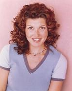 Spin City - Spin City Cast Member smiling in a Portrait wearing Casual Dress