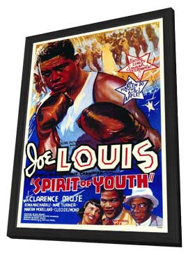 Spirit of Youth - 11 x 17 Movie Poster - Style A - in Deluxe Wood Frame