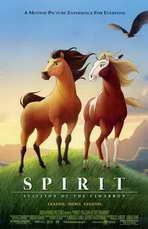 Spirit: Stallion of the Cimarron - 11 x 17 Movie Poster - Style C