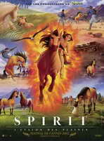 Spirit: Stallion of the Cimarron - 11 x 17 Movie Poster - French Style A