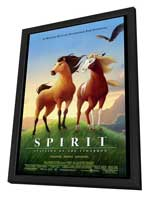 Spirit: Stallion of the Cimarron - 27 x 40 Movie Poster - Style A - in Deluxe Wood Frame