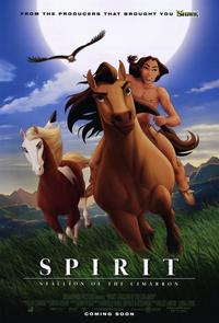 Spirit: Stallion of the Cimarron - 11 x 17 Movie Poster - Style D