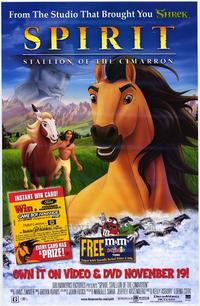 Spirit: Stallion of the Cimarron - 11 x 17 Movie Poster - Style E