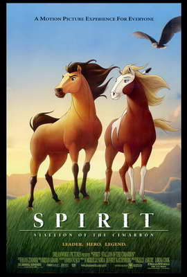 Spirit: Stallion of the Cimarron - 27 x 40 Movie Poster - Style A