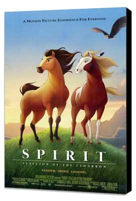 Spirit: Stallion of the Cimarron - 11 x 17 Movie Poster - Style C - Museum Wrapped Canvas