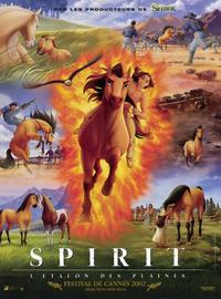 Spirit: Stallion of the Cimarron - 11 x 17 Movie Poster - French Style A - Museum Wrapped Canvas