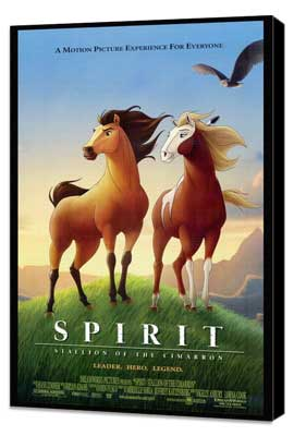 Spirit: Stallion of the Cimarron - 27 x 40 Movie Poster - Style A - Museum Wrapped Canvas