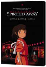 Spirited Away - 11 x 17 Movie Poster - Style E - Museum Wrapped Canvas