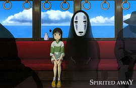 Spirited Away - 11 x 17 Movie Poster - Style C