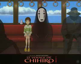 Spirited Away - 11 x 14 Poster French Style A