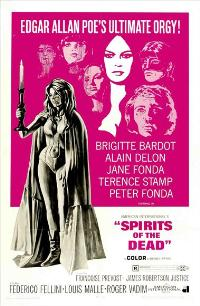 Spirits of the Dead - 27 x 40 Movie Poster - Style A