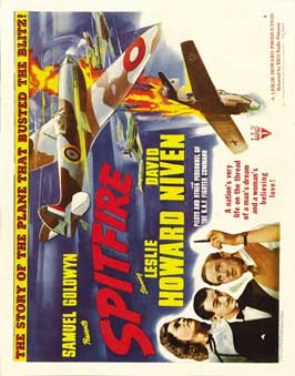 Spitfire - 11 x 14 Movie Poster - Style B
