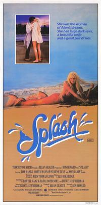 Splash - 11 x 17 Movie Poster - Style B