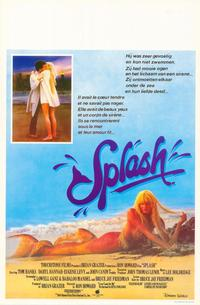 Splash - 11 x 17 Movie Poster - Belgian Style A