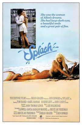 Splash - 27 x 40 Movie Poster - Style B