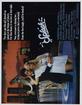 Splash - 27 x 40 Movie Poster - Japanese Style B